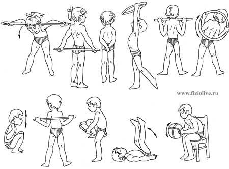Гимнастика при сколиозе упражнения